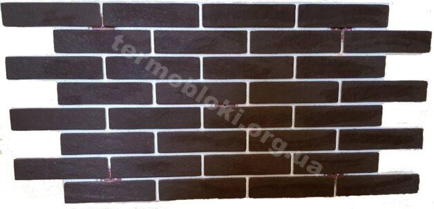 Термопанель BrickStyle Strand Crystal коричневая