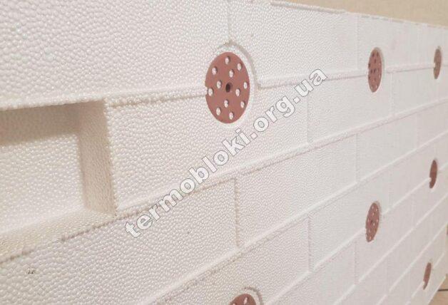 Заготовка фасадной клинкерной термопанели ТЕРМОДОМ. Купить фасадные термопанели от производителя. Цена термопанели с клинкерной плиткой. Термопанели для фасада и цоколя под кирпич 1
