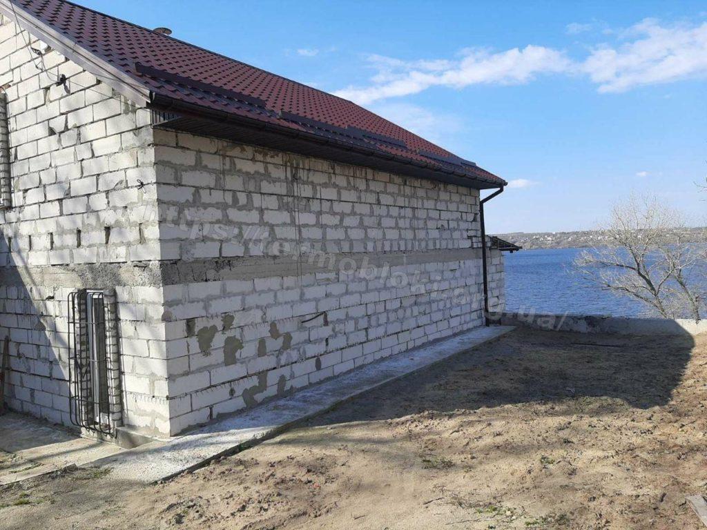 Диброво. Днепропетровская область. Термопанель с фасадной плиткой Церрад песочная (фасад) и браз (углы) 11